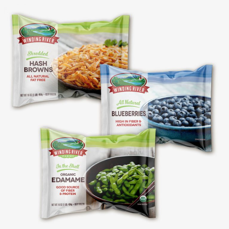 Winding River Farms frozen vegetables and fruits